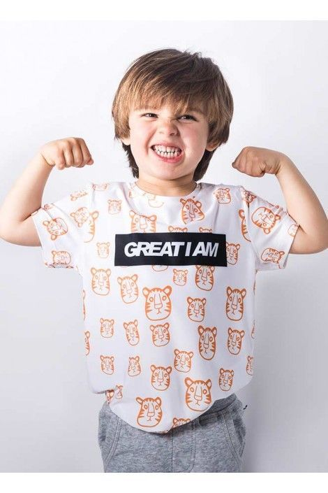 Camiseta Tiger Junior