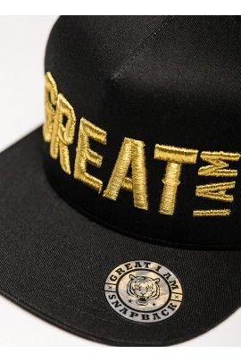 Gorra Gold and Black