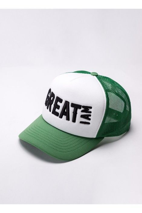 Gorra Green and White